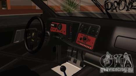 Ford Sierra RS500A для GTA San Andreas вид справа