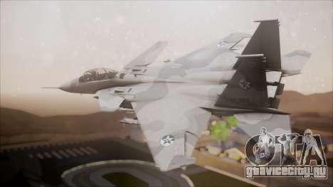 F-15S MTD Grabacr (8492nd) Ace Combat 5 для GTA San Andreas вид слева