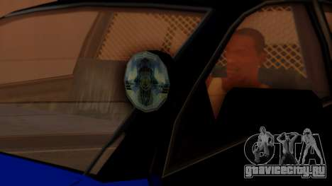 Police HSV VT GTS SA Style для GTA San Andreas вид справа