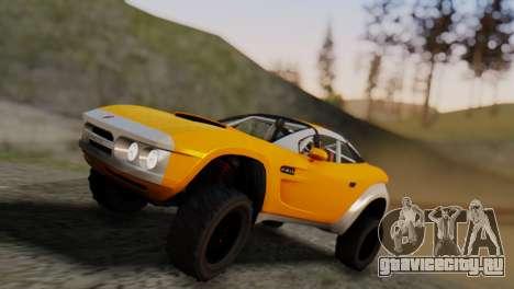Coil Brawler Gotten Gains для GTA San Andreas вид сбоку