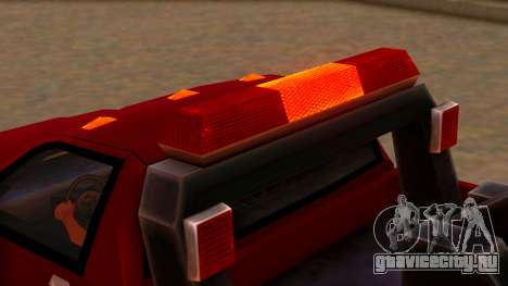 Premier Towtruck для GTA San Andreas вид сзади