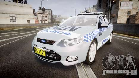 Ford Falcon FG XR6 Turbo Police [ELS] для GTA 4