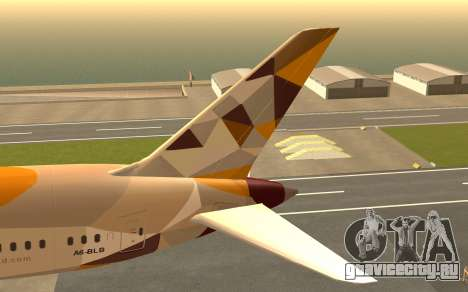 Boeing 787-9 Etihad Airways для GTA San Andreas