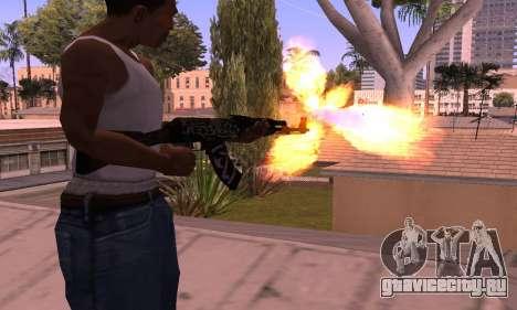 AK-47 Повстанец для GTA San Andreas второй скриншот