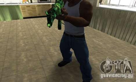 Ganja АК-47 для GTA San Andreas второй скриншот