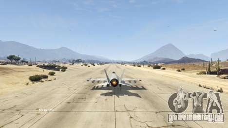Flight Speedometer V 2.0 для GTA 5 четвертый скриншот