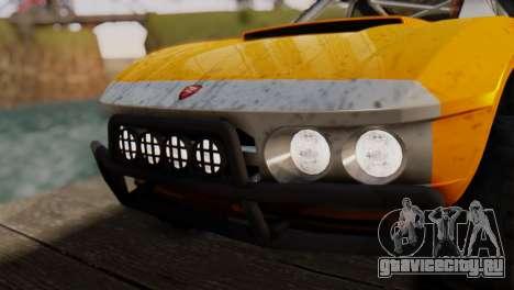 Coil Brawler Gotten Gains для GTA San Andreas двигатель