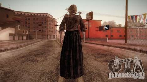 RE4 Isabel для GTA San Andreas третий скриншот