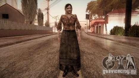 RE4 Isabel для GTA San Andreas второй скриншот