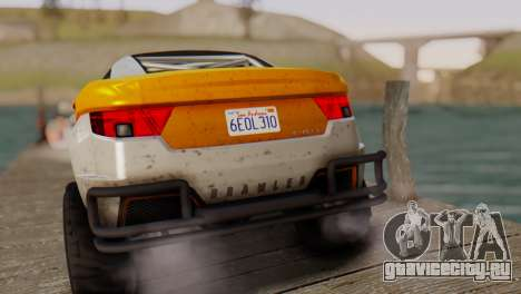 Coil Brawler Gotten Gains для GTA San Andreas
