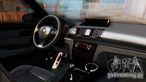 BMW M1 Tuned для GTA San Andreas вид справа
