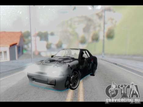 Elegy Lumus для GTA San Andreas салон