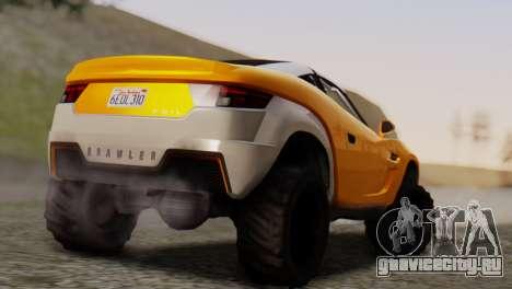Coil Brawler Gotten Gains для GTA San Andreas вид слева