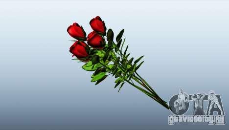 Букет из роз для GTA 5 третий скриншот