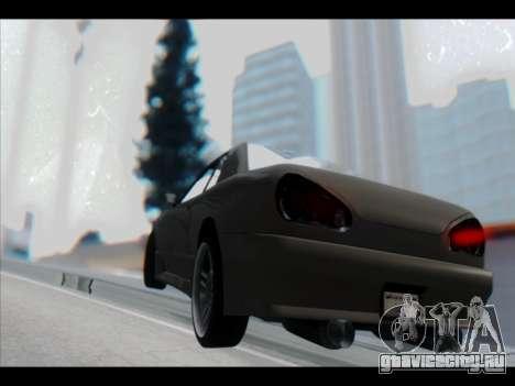 Elegy Lumus для GTA San Andreas колёса