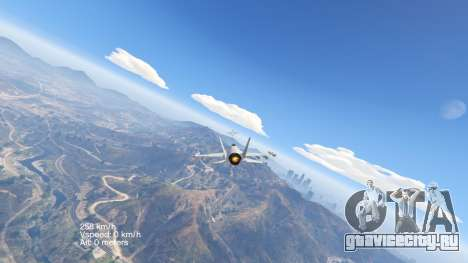 Flight Speedometer V 2.0 для GTA 5