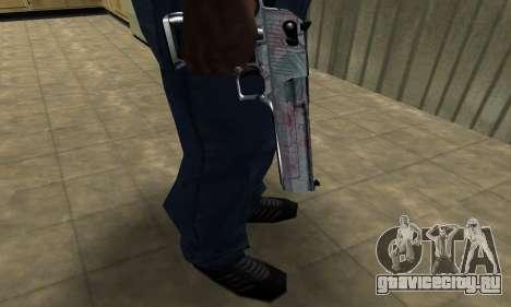 Flowers Deagle для GTA San Andreas