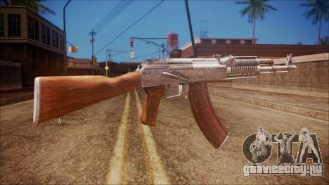 AK-47 v5 from Battlefield Hardline для GTA San Andreas второй скриншот