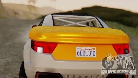 Coil Brawler Gotten Gains для GTA San Andreas вид справа