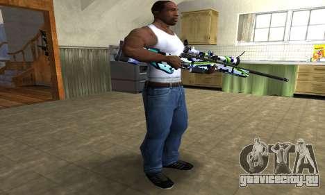 Marcken Sniper Rifle для GTA San Andreas третий скриншот