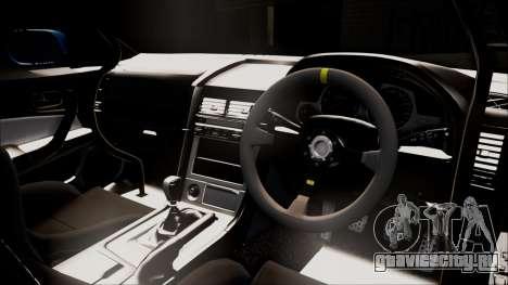 Nissan Skyline ER34 Duck Attack Team для GTA San Andreas вид сзади слева