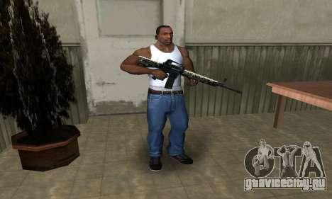 Military M4 для GTA San Andreas третий скриншот