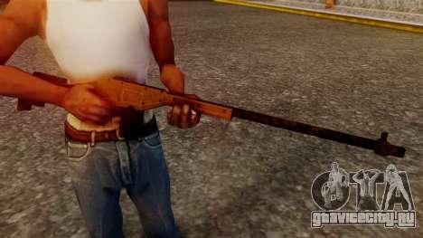A Police Marksman Rifle для GTA San Andreas третий скриншот
