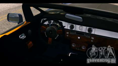 Rolls-Royce Phantom 2013 Coupe v1.0 для GTA 4 вид справа