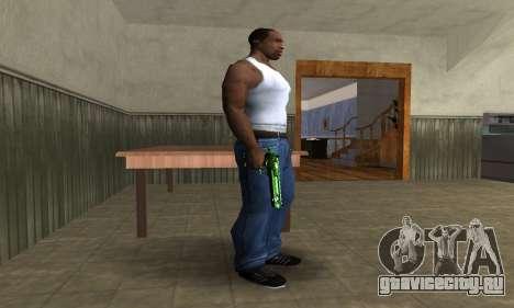 Green Clayn Deagle для GTA San Andreas второй скриншот
