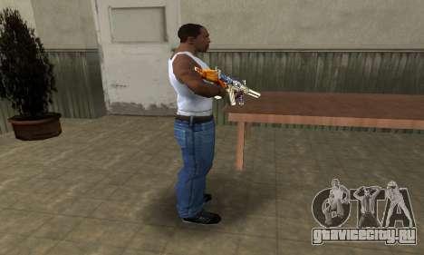 M4 Fish Power для GTA San Andreas третий скриншот