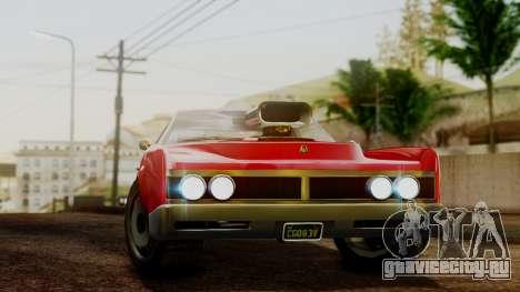 GTA 5 Albany Virgo для GTA San Andreas вид сзади слева