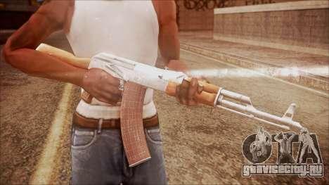 AK-47 v7 from Battlefield Hardline для GTA San Andreas третий скриншот