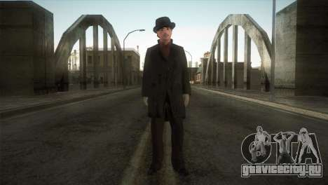 Sherlock Holmes v3 для GTA San Andreas второй скриншот