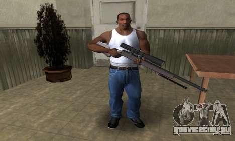Sniper Rifle для GTA San Andreas третий скриншот