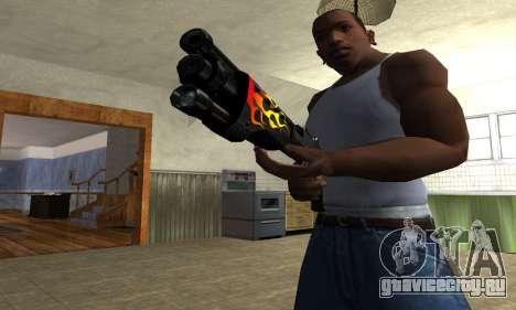 Flame Shotgun для GTA San Andreas второй скриншот