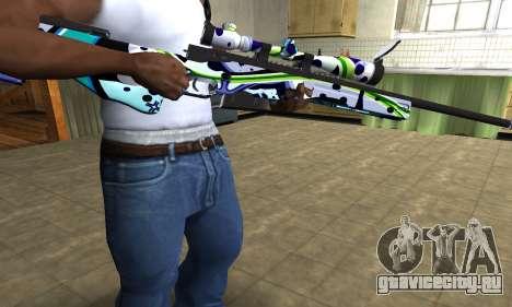 Marcken Sniper Rifle для GTA San Andreas