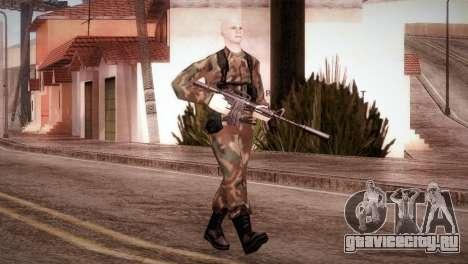 Shaved Soldier для GTA San Andreas