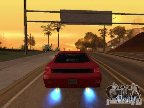 Убираем размытие нитро при включении для GTA San Andreas