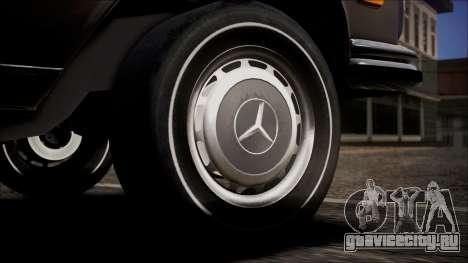 Mercedes-Benz 300 SEL 6.3 для GTA San Andreas вид сзади слева