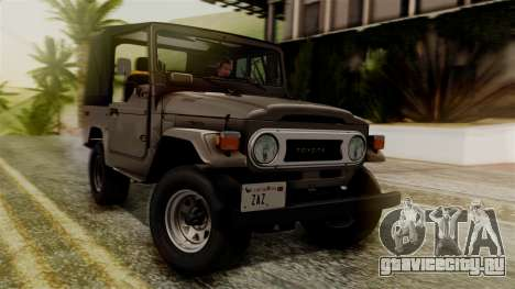 Toyota Land Cruiser J40 1980 для GTA San Andreas