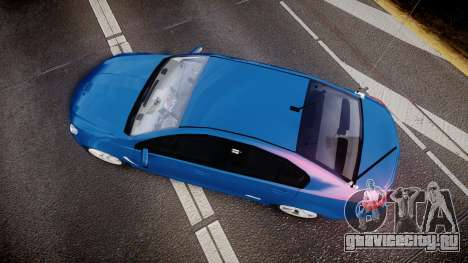 Holden VF Commodore SS Unmarked Police [ELS] для GTA 4 вид справа