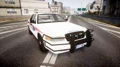 Ford Crown Victoria Bohan Police [ELS] WL для GTA 4