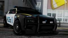 Hunter Citizen Police SF IVF для GTA San Andreas