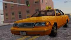 Ford Crown Victoria Taxi для GTA San Andreas