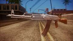 AK-47 v5 from Battlefield Hardline для GTA San Andreas
