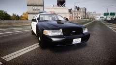 Ford Crown Victoria 2011 LAPD [ELS] rims2 для GTA 4