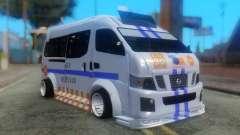 Nissan Urvan NV350 для GTA San Andreas