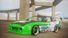 Nissan 240SX Sinon Itasha для GTA San Andreas
