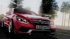 Mercedes-Benz W212 E63 AMG для GTA San Andreas