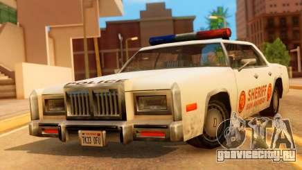 4-door Police Esperanto для GTA San Andreas